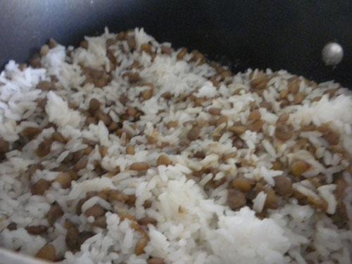 how to make egyptian koshari