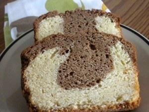 Gradma's marble cake