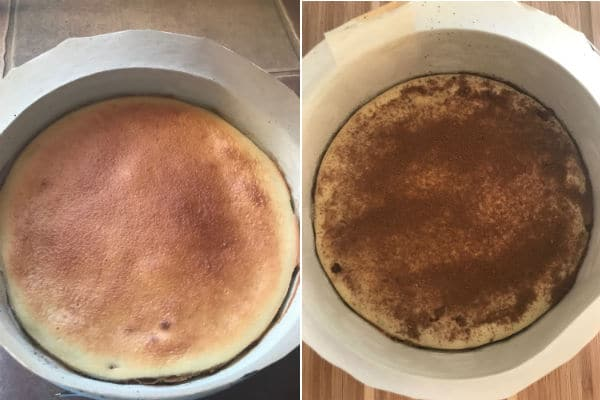 Step by step photos for making Cinnamon layered cake