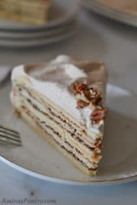 Moist Cinnamon Layer Cake