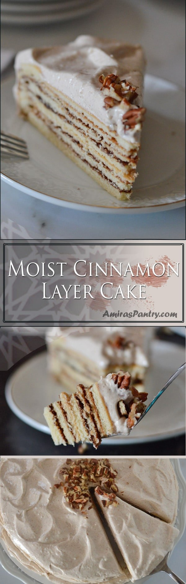 Cinnamon lovers rejoice!. This easy, moist cinnamon cake recipe from scratch is a foolproof by all means.