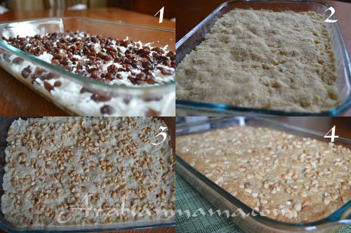 Step by step photos for making Hareesa recipe