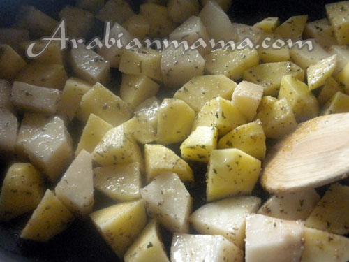 Healthy cilantro dishes