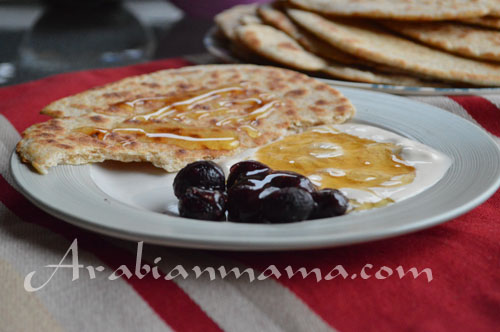 Middle East flat bread