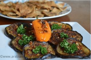 Palestinian sumac appetizers