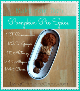 Make Your Own Pumpkin Pie Spice