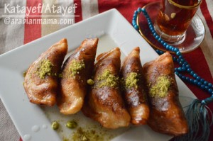 Qatayef or Atayef