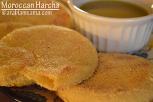 Moroccan Harcha/Harsha bread