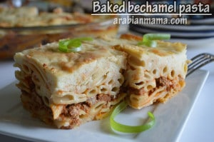 Egyptian baked bechamel pasta : A masterpiece