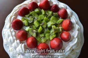 My healthy kitchen : Light fruit cake