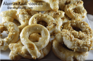 Algerian Kaak or cookies #MENA cooking club