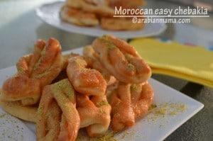 Easy Moroccan chebakia #Virtual Iftar Potluck