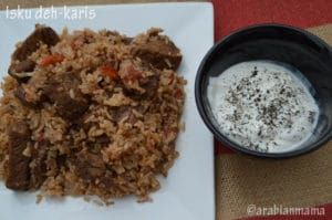 From Djibouti: Isku deh-karis #MENA cooking club