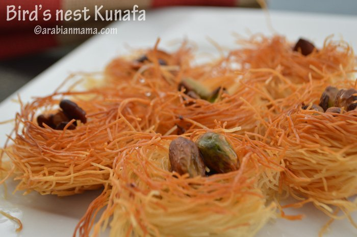 kunafa nests