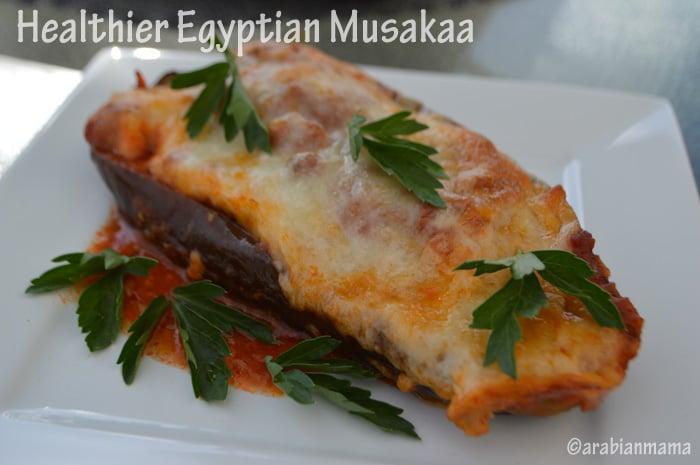 Healthy musakaa recipe