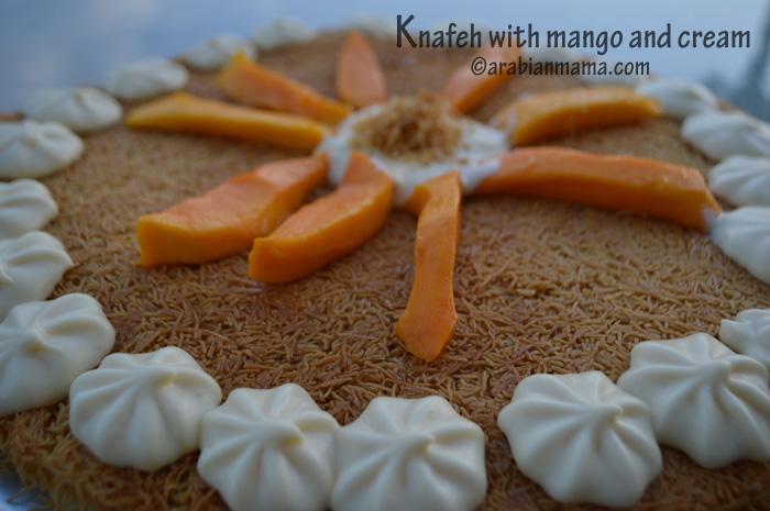 knafeh mango-1 recipe