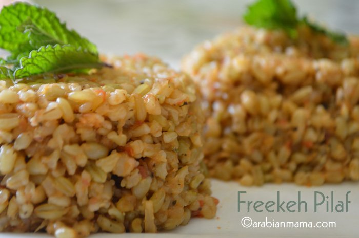 Lebanese freekeh recipes