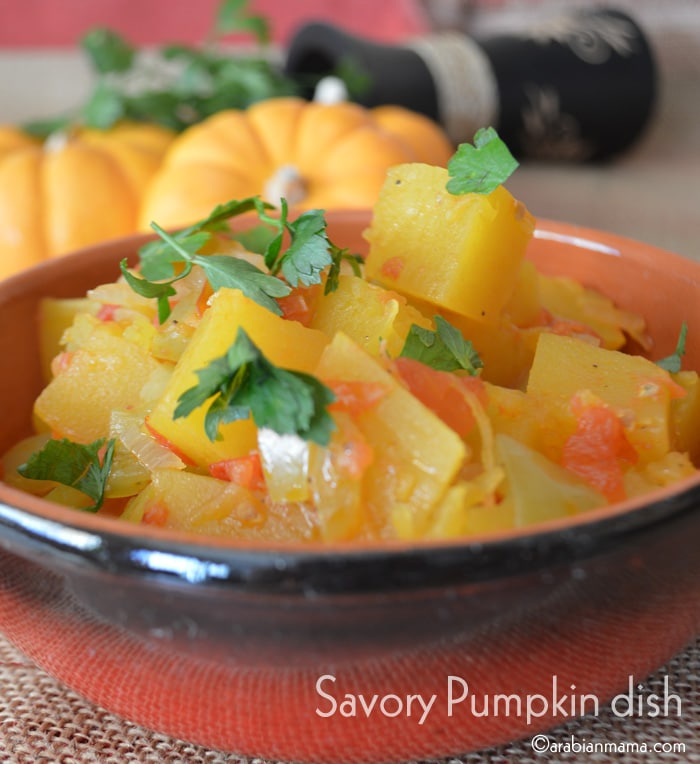Savory Pumpkin Recipe