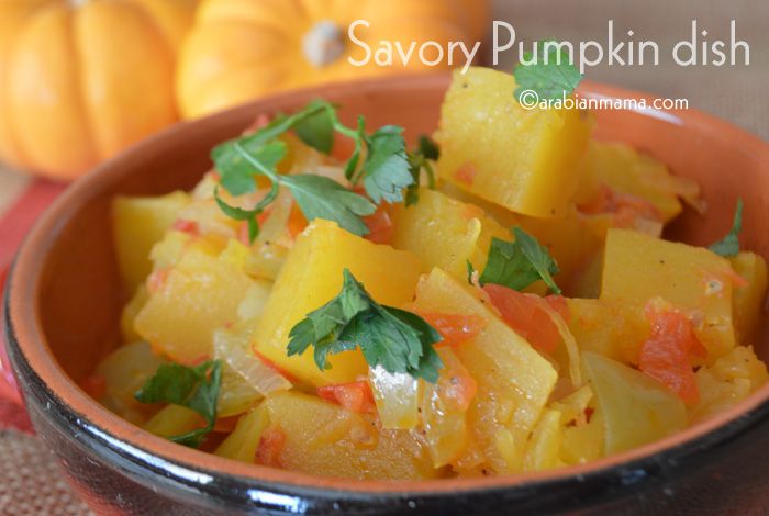 savory pumpkin dish