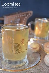 Loomi tea- dried black lime tea