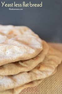 Yeast-less flat bread