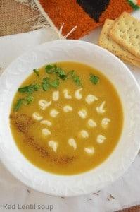 Red lentil soup – revisited