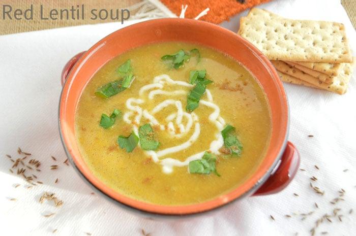 Best Egyptian red lentil soup