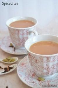 Middle Eastern Spiced tea