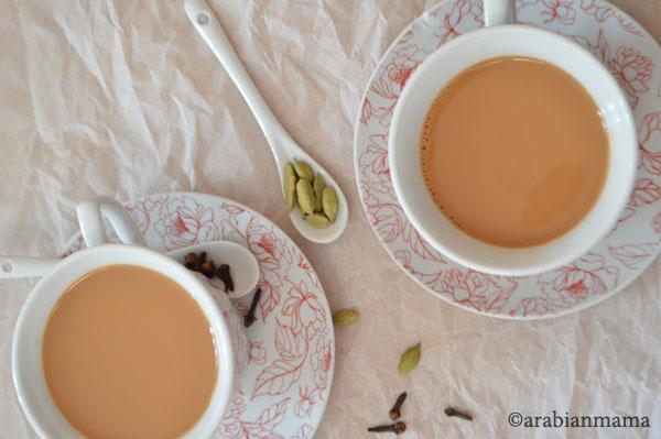 Chai in arabic