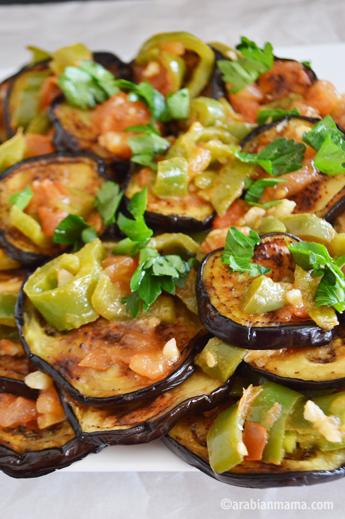 Eggplant garlic recipe