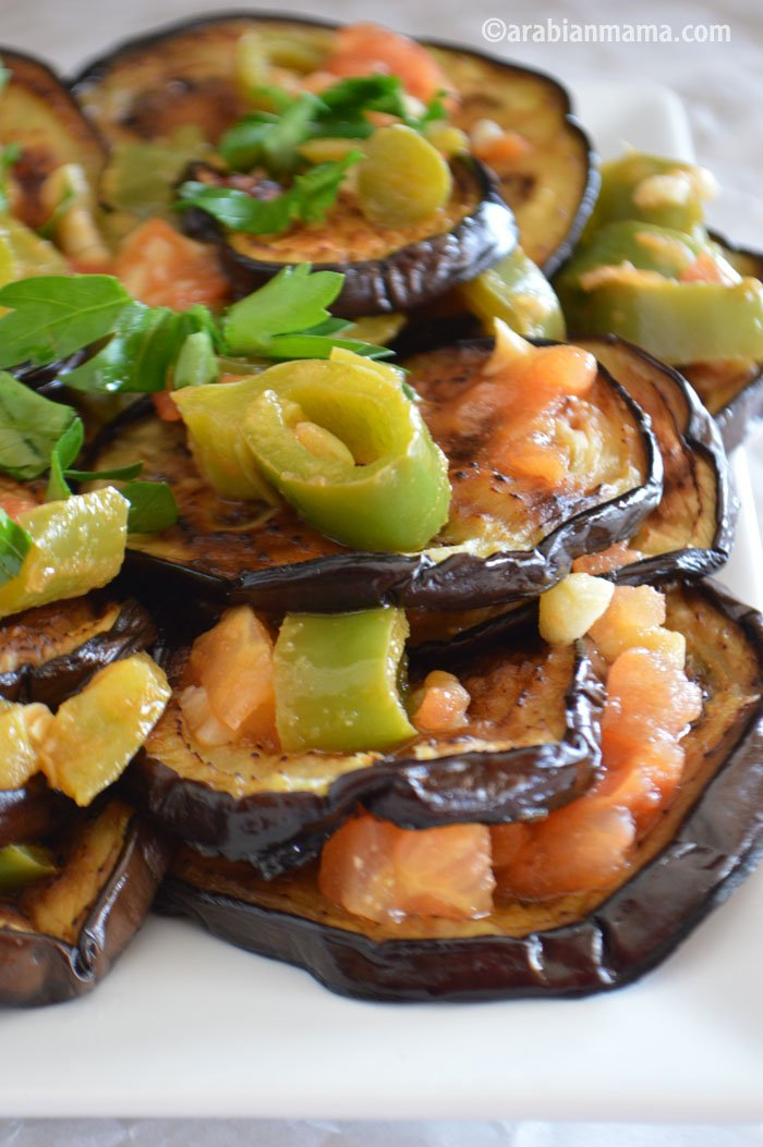 Eggplant garlic recipe