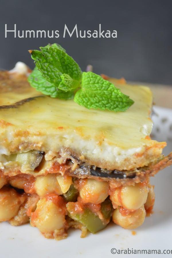 Easy vegetarian Moussaka recipe
