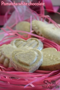 Pismatcha chocolate hearts- easy valentine treat