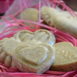 A basket full of Chocolate Matcha cookies