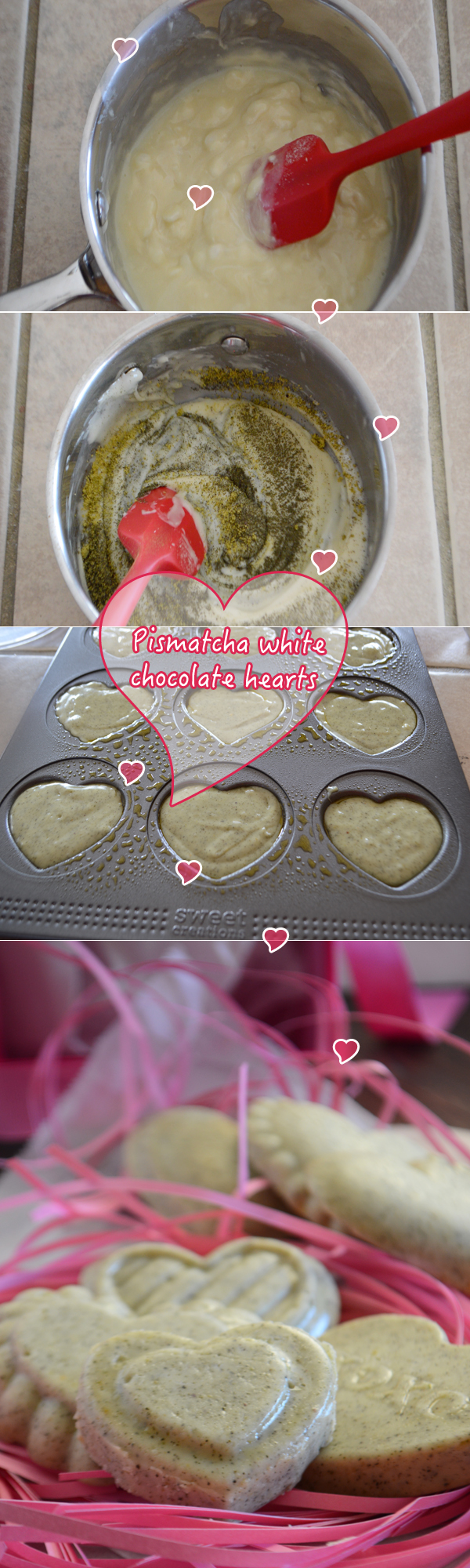 Easy valentine treats