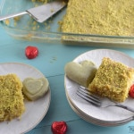 Pistachio- semolina cake | Amira's Pantry