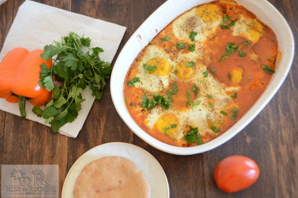 Middle Eastern Shakshoka