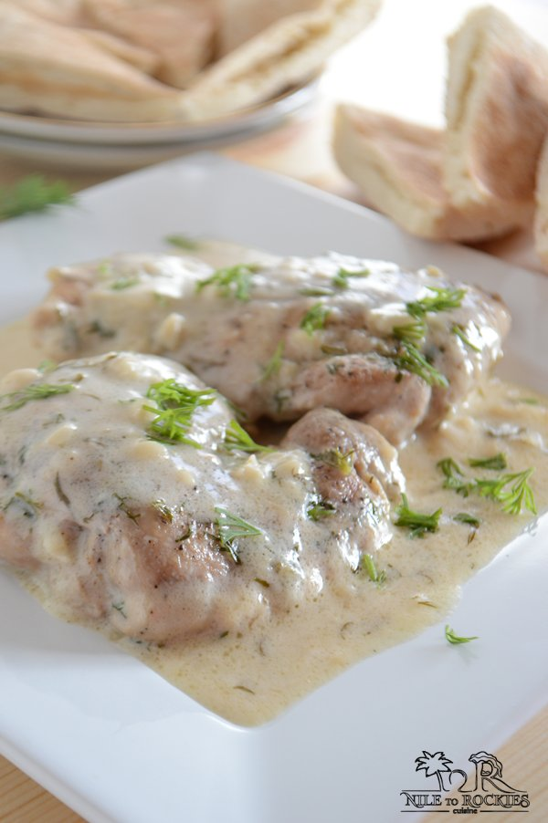 Chicken in lime and dill sauce | Amira's Pantry