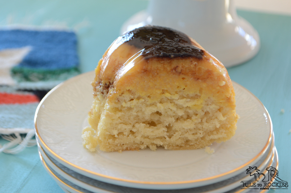 Simple to make, light and airy yogurt cake. Not too sweet by itself, but, sweet tooth people like me can always find ways to make anything even sweeter. With this delicious toffee sauce, this cake will not make it to the next morning, specially when you have guests. You will not believe how easy this cake is.