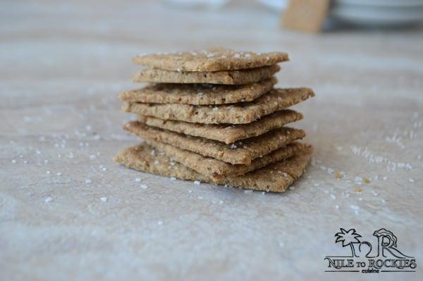 easy homemade whole grain crackers