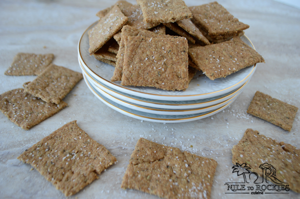 make your own whole grain crackers