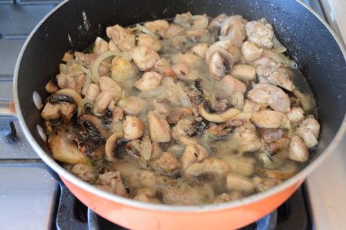 easy chicken mushroom recipe
