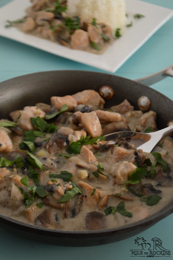 skinny chicken mushroom recipe