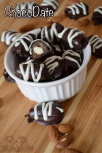 Chocodates: Chocolate covered dates
