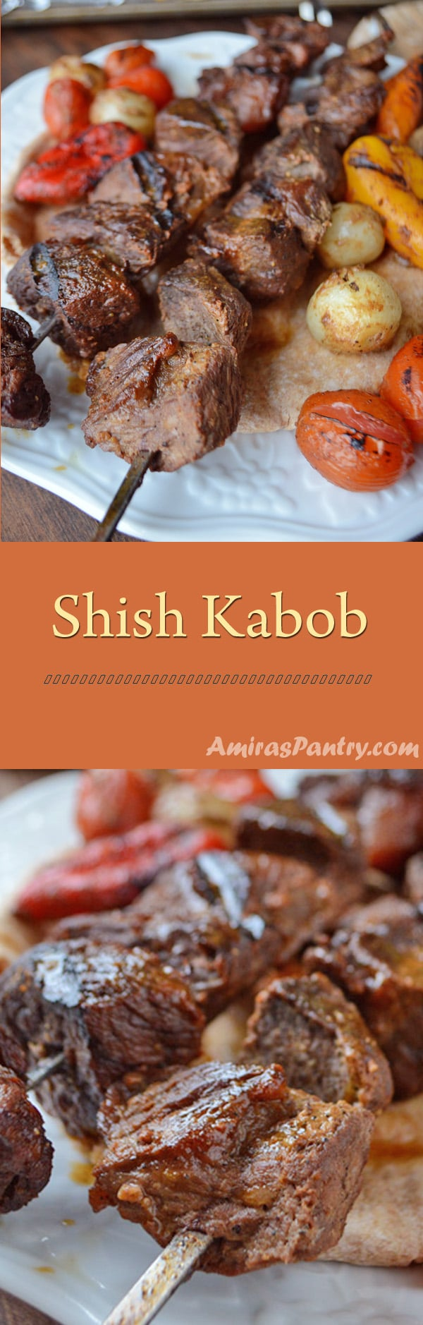 How to Marinate Shish Kebab in Vinegar and Sesame Dressing 5