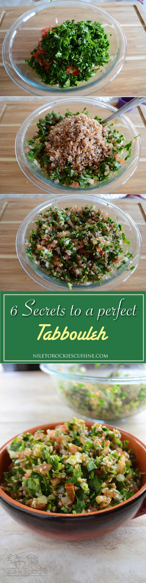 Lebanese tabbouleh recipe