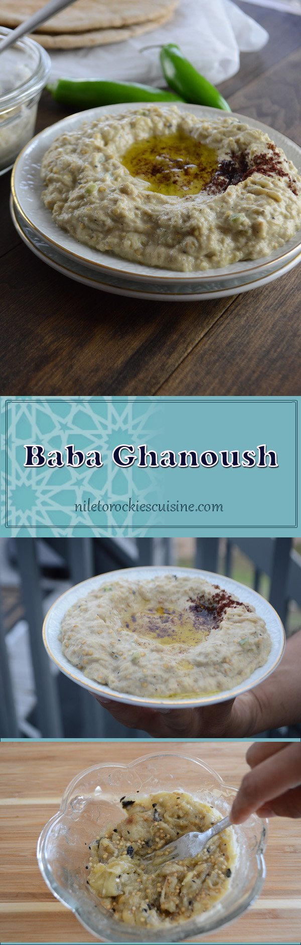 Baba Ghanoush | NILE TO ROCKIES CUISINE