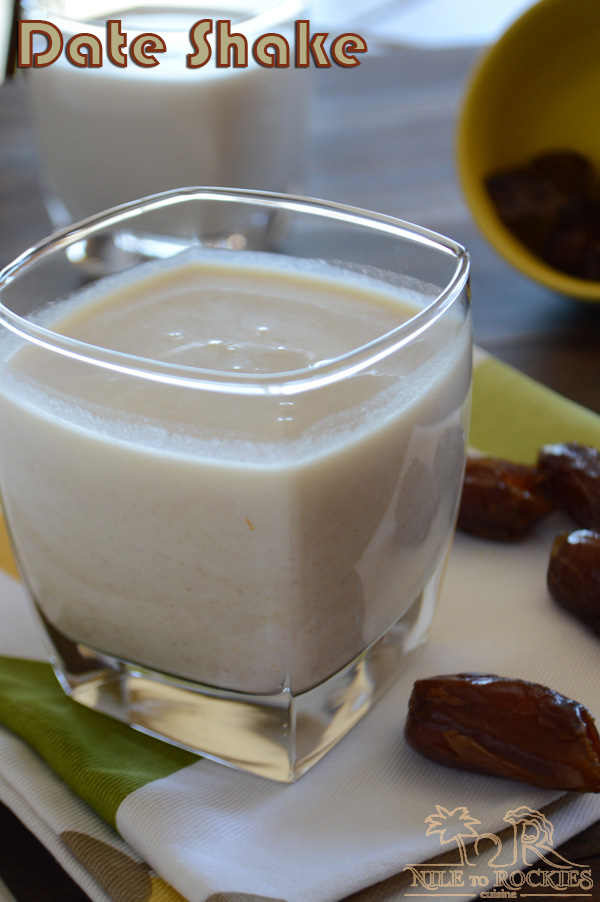 Sweet dates and creamy milk are blended together to get this creamy, dreamy date shake or date milkshake.