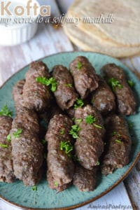 Kofta Kebabs- my secrets to a soft juicy meatballs