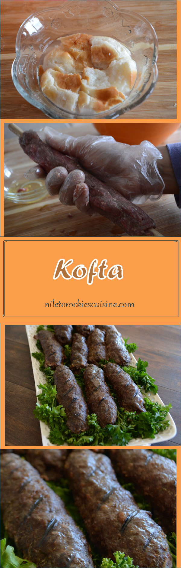 Kofta is the Arabic term of meatballs but this is not just any meatballs recipe, this is my family's tender and juicy meatballs with all the secrets.